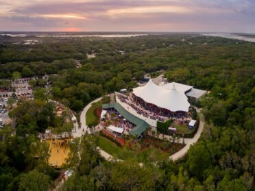 Aerial view of the St. Augustine Amphitheater