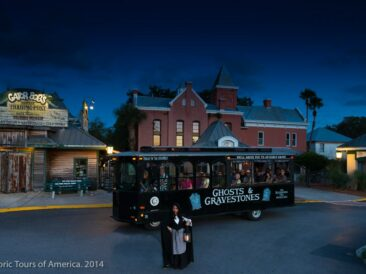 Ghosts And Gravestones trolley