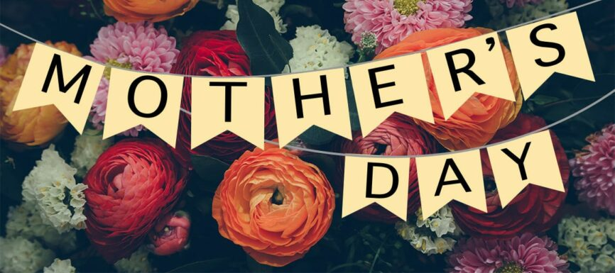 mothers day with flowers