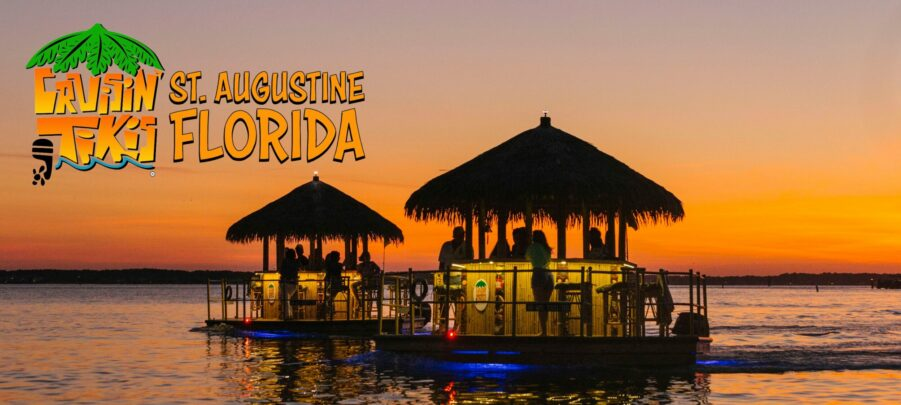FLOATING TIKI HUTS