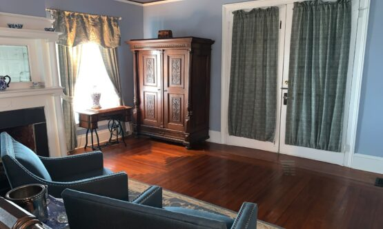 Large Menendez Room with armoire