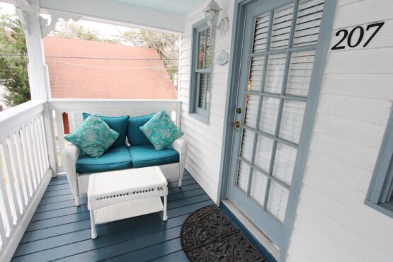 Abigail room outdoor seating area