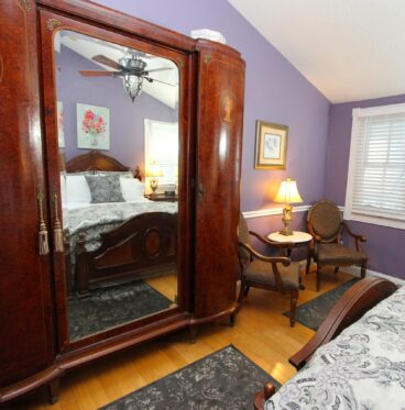 Abigail room with armoire